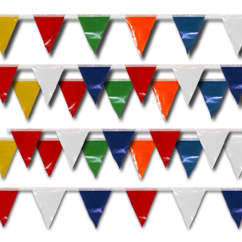 Pennant Lines Multicolor In 100 Foot Lengths
